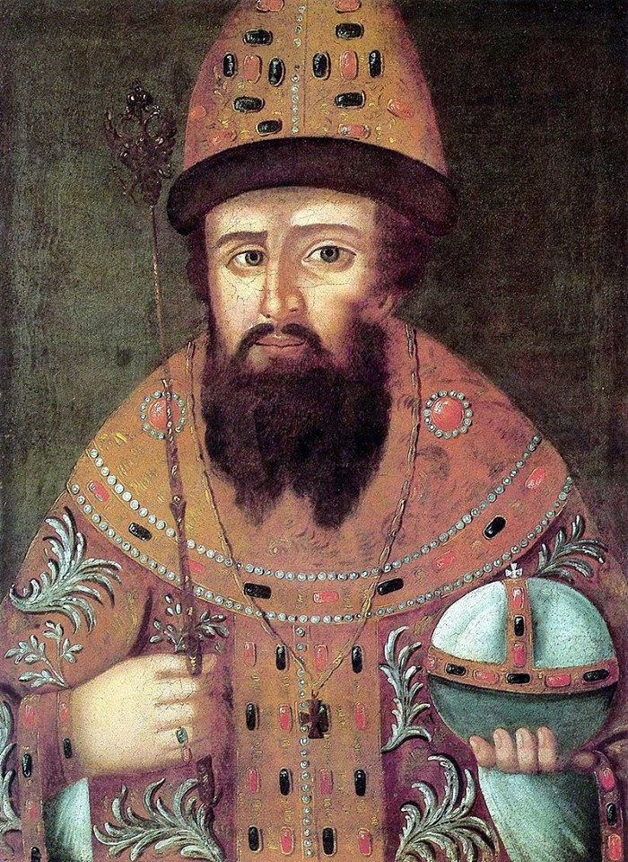 Michał IFiodorowicz (1596-1645), założyciel dynastii Romanowów, był carem Rosji wlatach 1613-1645.