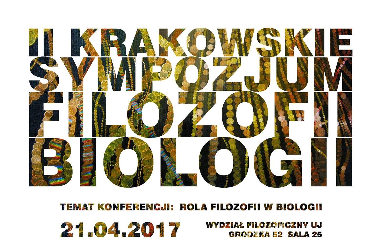 II Krakowskie Sympozjum Filozofii Biologii