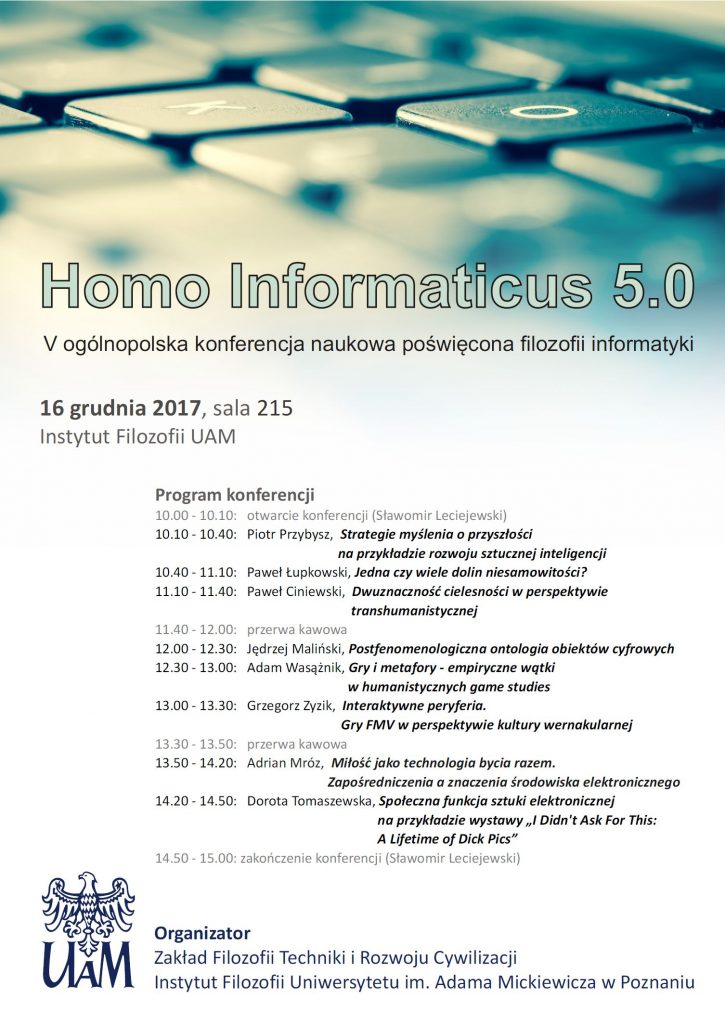 Homo Informaticus 5.0