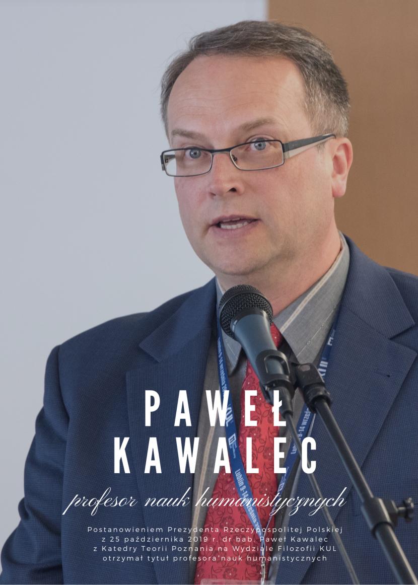 Nominacja profesorska dla dr. hab. Pawła Kawalca