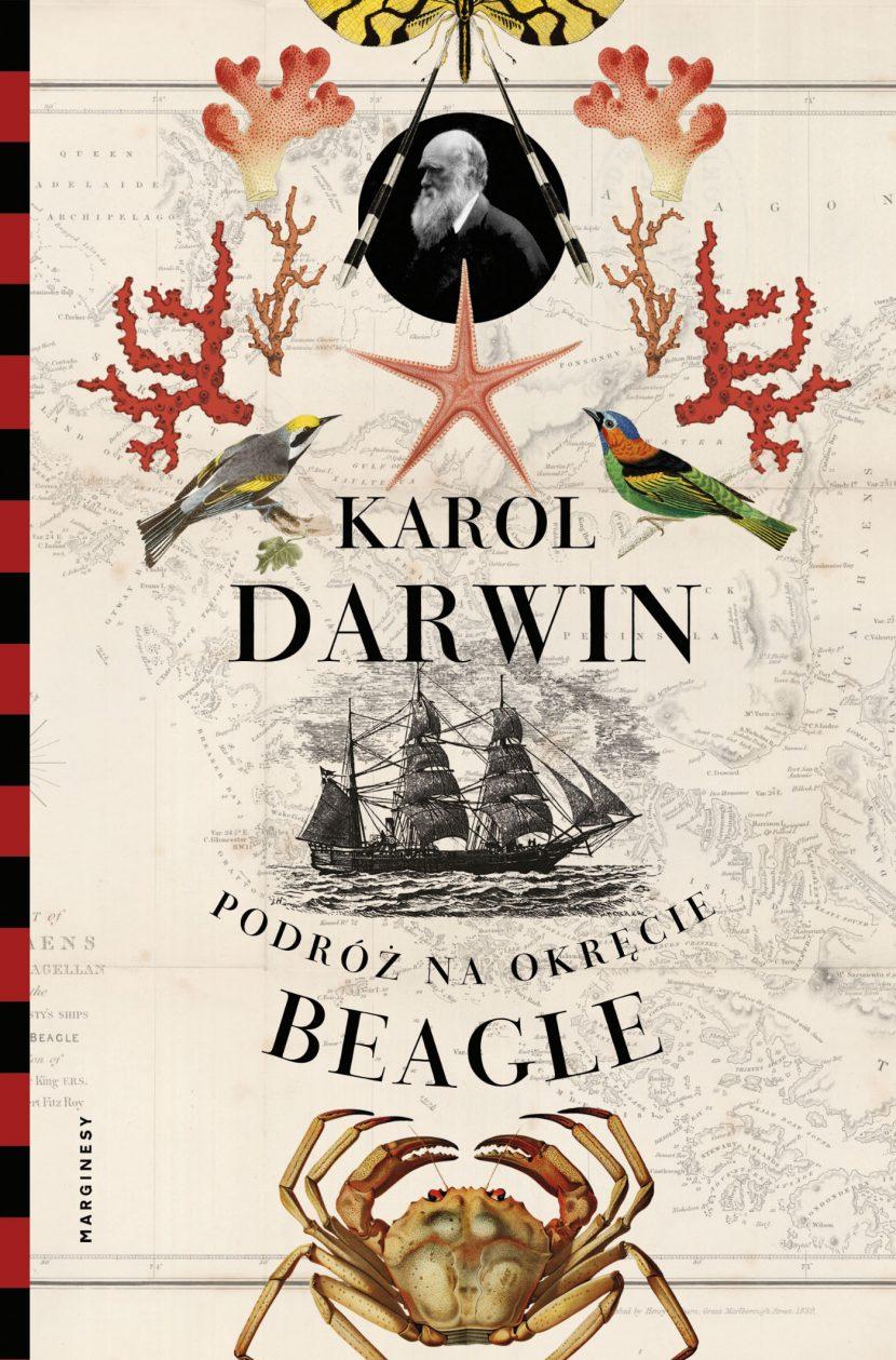 """Podróż na okręcie """"Beagle"""" - Karol Darwin"""
