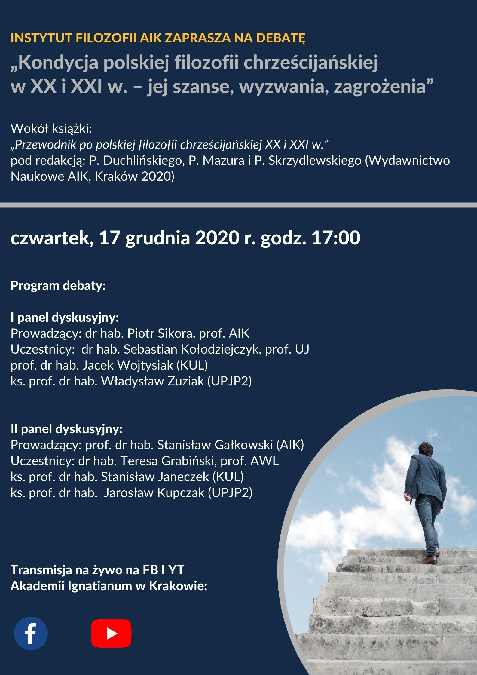 Kondycja polskiej filozofii chrześcijańskiej w XX i XXI w. – jej szanse, wyzwania, zagrożenia