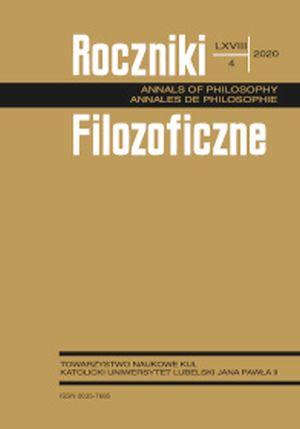 Roczniki Filozoficzne 68 (4) 2020