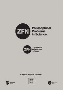 Philosophical Problems in Science - Zagadnienia Filozoficzne wNauce