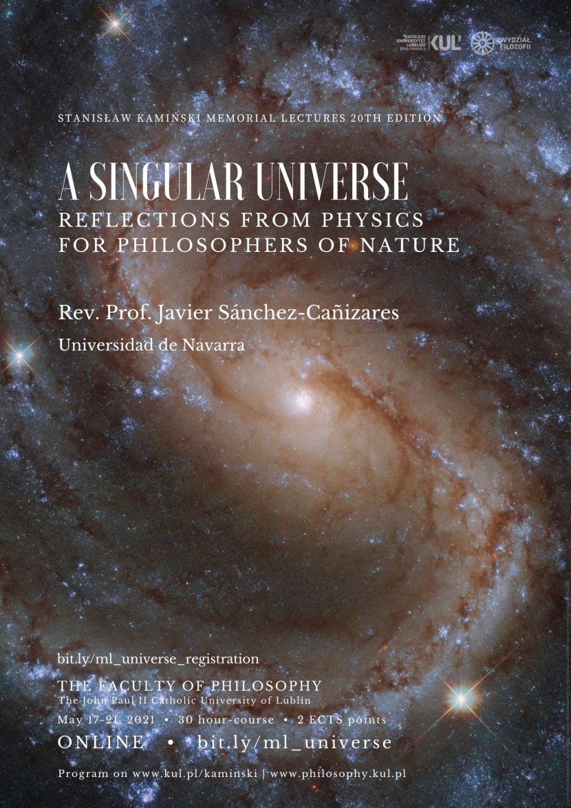 A Singular Universe. Reflections from Physics for Philosophers of Nature
