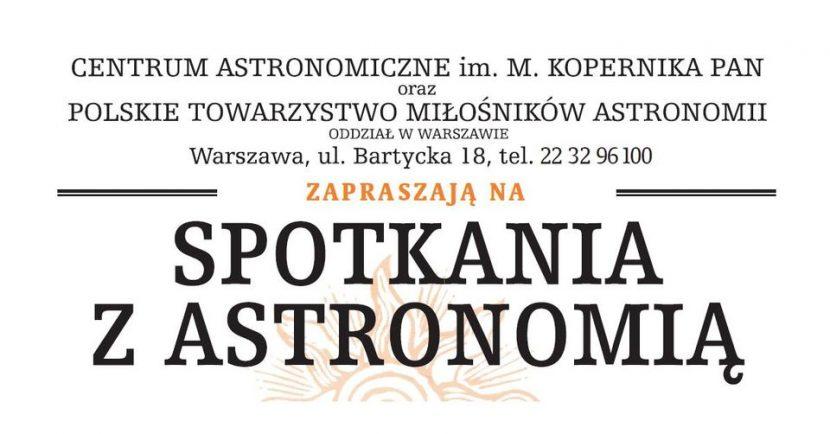 Spotkania z Astronomią
